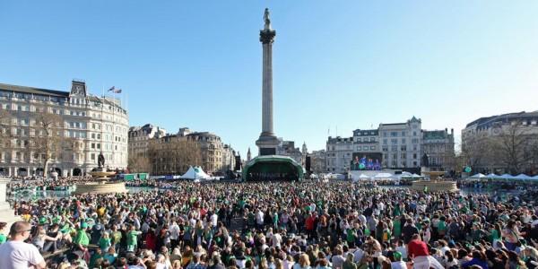 Craicheads - St Patrick's Day Trafalgar Square