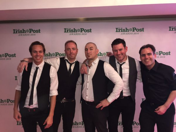 Backstage at the Irish Post Awards
